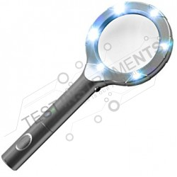 Handheld High Powered Magnifying Glass with 6LED