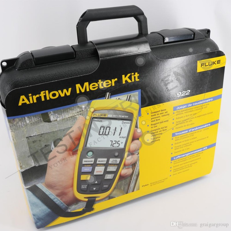 Fluke 922 Air Flow Meter in Pakistan | testinstruments pk